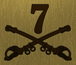 7th Cavalry Trail System Logo / Insignia