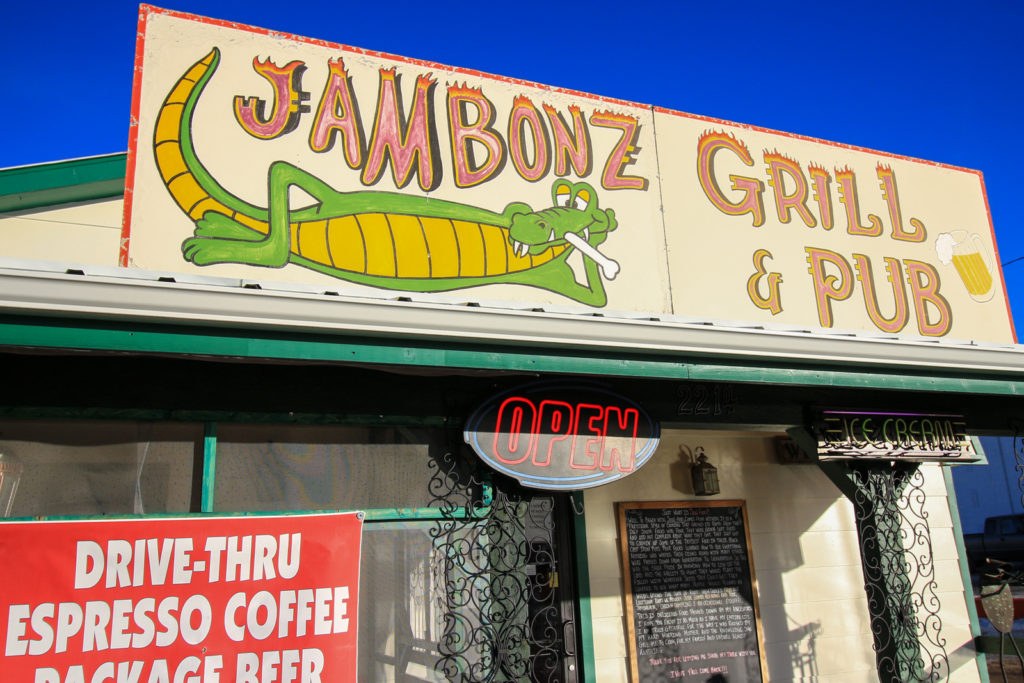 Jambonz Grill & Pub Sign, Junction Ave, Sturgis, SD