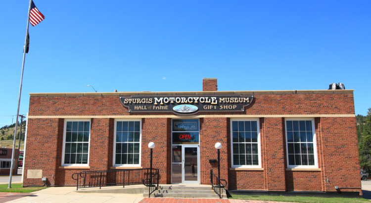 Sturgis Motorcycle Museum from Main Street