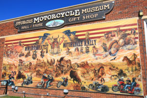 Sturgis Motorcycle Museum from Junction Avenue