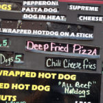 Deep Fried Pizza at 2017 Sturgis Motorcycle Rally